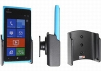 Brodit pass.draaib.houder met sig. plug voor Nokia Lumia 900