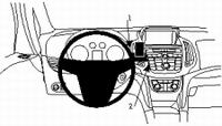 Brodit center mount voor Opel Zafira 12-