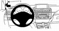 Brodit left mount high v. BMW 3series F30 12-
