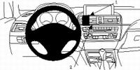 Brodit center mount voor BMW 3series F30 12-