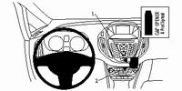 Brodit angled mount v, Ford B-Max 13-