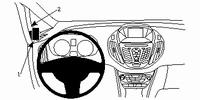 Brodit left mount v, Ford B-Max 13-