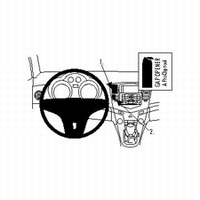 Brodit center mount v. Chevrolet Cruze 09-10
