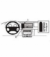 Brodit center mount v. VW Golf IV 98-03