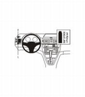 Brodit dashmount linkse montage v. BMW X3 04-10