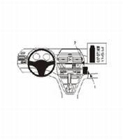 Brodit angled mount v. BMW X3 04-10