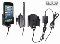 Brodit act.houder v.vaste inst.v.Apple iPhone 5/5C met skin