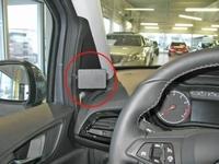 Brodit left mount v. Opel Corsa 15-