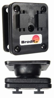 Brodit vertikale adapter plaat met swivel, voor Arkon