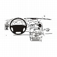 Brodit angled mount v. Volvo V70 00-04