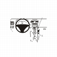 Brodit angled mount v. Volvo S40 04-07
