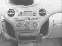 Brodit angled mount v.Toyota Yaris Verso 99-05