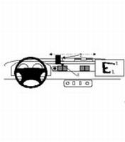 Brodit center mount v. Land Rover Defender 98-03