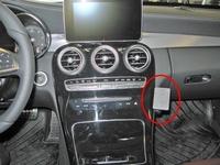 Brodit angled mount v.Mercedes Benz C-klasse 14-