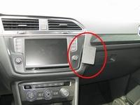 Brodit angled mount v. Volkswagen Tiguan 17-