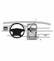 Brodit center mount v. VW Sharan 01-03