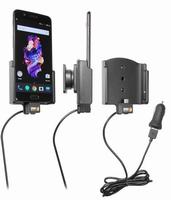 Brodit actieve houder voor OnePlus 5 met USB sig.plug