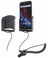 Brodit draaib.actieve houder v. Motorola G4 XT1625 sig.plug