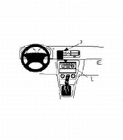 Brodit cent.mount v.Scoda Octavia GLX 99-00/RS03-/RLX 99-00