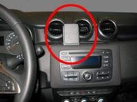 Brodit center mount voor Dacia Duster 18-