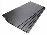 Brodit ABS-plastic platen, zwart 5 st. 5 mm dik  200x420.