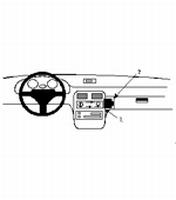 KIA SPORTAGE 95-98 angled mount PROFESSIONAL