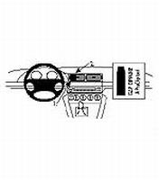 Brodit center mount v. BMW 520/540/M5 E39 96-03