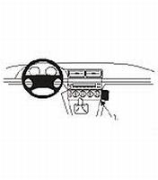 Brodit angled mount v. BMW 520-540 / M5 E39 96-03