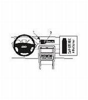 Brodit center mount v. Audi A4 01-07