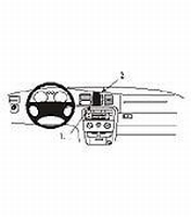 Brodit center mount v. Opel Vectra B 96-01