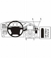 Kia Carens II 03-06 Dashmount-Angled Professional