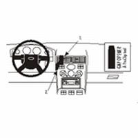 Brodit center mount v. Ford Mondeo 01-07