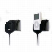 Actieve draaibare houder met sig.plug voor iPod 4th gen.