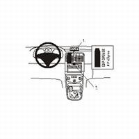 Brodit center mount v. Peugeot 307 01-03