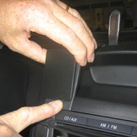 Brodit center mount voor Peugeot 107 06-