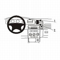 Brodit center mount v. Opel Zafira 99-03