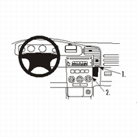 Brodit angled mount v. Opel Zafira 99-03