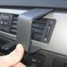 Brodit angled mount v. BMW 3-reeks E90 05- zonder navigatie