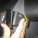 Brodit angled mount voor Peugeot 107 06-
